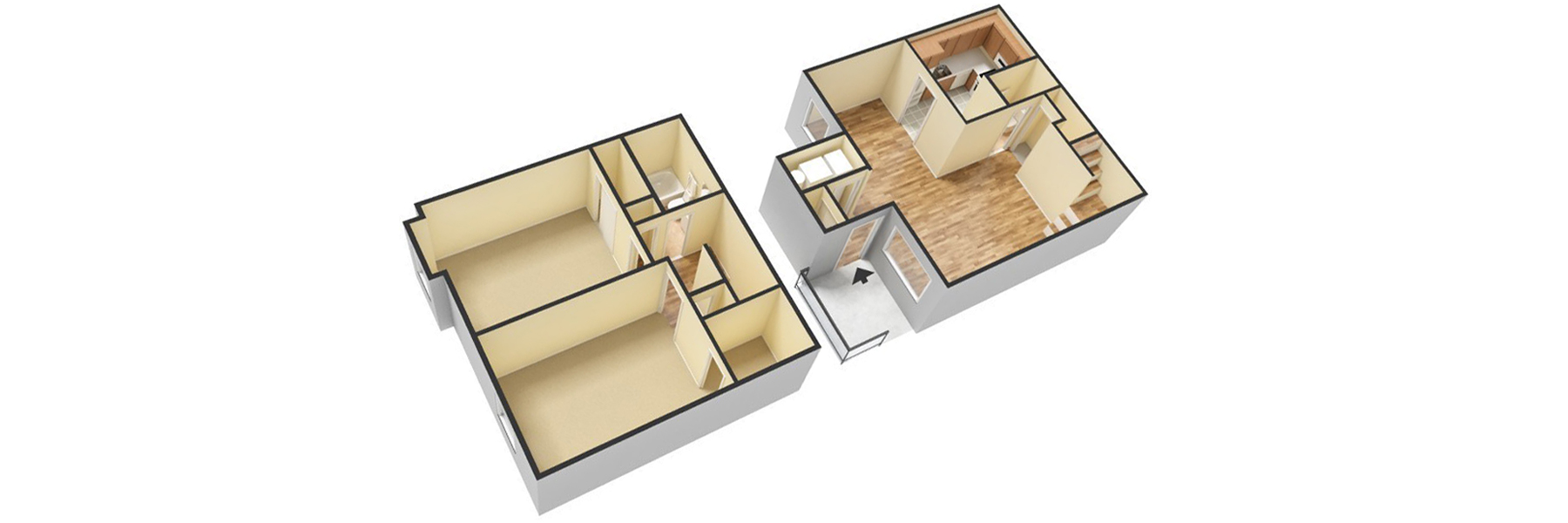 09 FoxMeadow 2bedTownhouse 1.5bath unfurnished apartments for rent in maple shade nj foxmeadow com  at virtualis.co