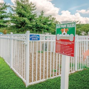 Fox Meadow apartments dog park
