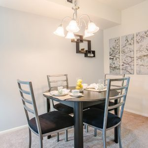 Fox Meadow apartments dining room