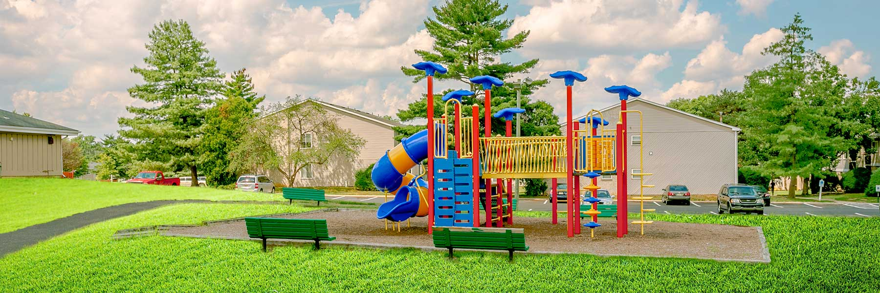 Fox Meadow apartments playground