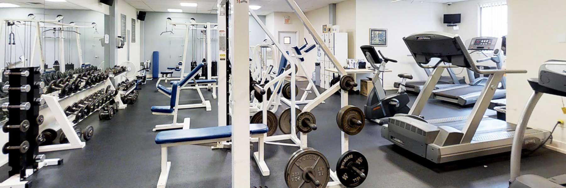 Fox Meadow apartments gym
